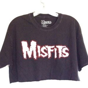 Misfits Punk Rock Band Graphic T-shirt